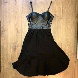 FOREVER 21 Exclusive Faux Leather Dress (J2)